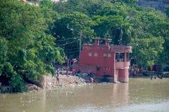 Ghat Zenana Bathing ghat a construction in Kolkatta Stock Images
