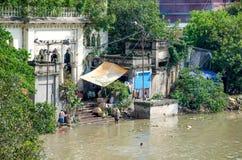 Ghat Zenana Bathing ghat a construction in Kolkatta Royalty Free Stock Photography