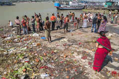 Ghats in Calcutta Stock Photos