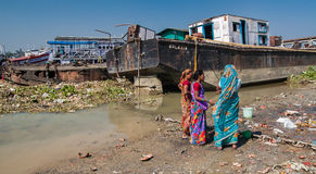 Ghats in Calcutta Stock Images