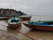 Ghats de Varanasi imagens de stock royalty free