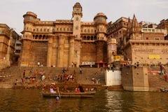 ghats Varanasi Στοκ εικόνες με δικαίωμα ελεύθερης χρήσης