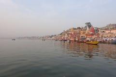 ghats Varanasi Στοκ Φωτογραφία