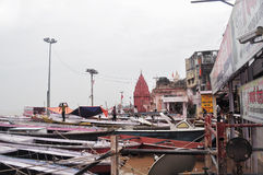 Ghats of Varanasi Stock Photo