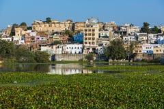 Ghats w Udaipur Rajasthan fotografia royalty free