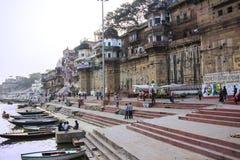 Ghatsna av Varanasi Royaltyfri Foto