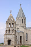 Ghazanchetsots大教堂在舒沙市 免版税库存图片