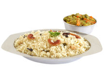 Ghee ρύζι Στοκ Εικόνες