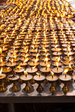 Ghee lamps Royalty Free Stock Photo