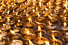Ghee lamps Stock Image