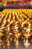 Ghee lamps Royalty Free Stock Photography