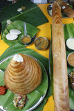 Ghee Roast Dosa - a pancake from South India Stock Images