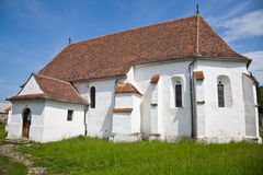 Ghelinta Fortified Church Stock Photography
