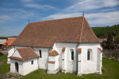 Ghelinta Fortified Church Royalty Free Stock Photos