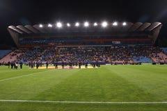Ghencea Stadium. Steaua Bucharest vs SSC Napoli match. Europa League competition Stock Image