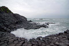 Ghenh Da Dia (Ganh Da Dia), giants basalt causeway Royalty Free Stock Images
