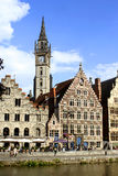 Ghent architecture Royalty Free Stock Photos
