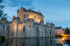 Ghent. Beautifull place in belgium with nice buildings:ghent stock images