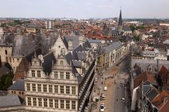 Ghent in Belgium Royalty Free Stock Image