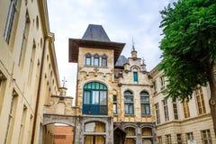 Hotel Gravensteen in Ghent Stock Photo