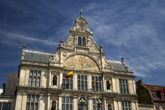 Ghent Belgium is a beautiful old building Royalty Free Stock Photography