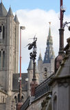 Ghent, Belgium, cityscape Royalty Free Stock Photography