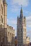 Ghent, Belgium, cityscape Royalty Free Stock Image
