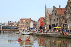 Ghent Belgium Royalty Free Stock Images