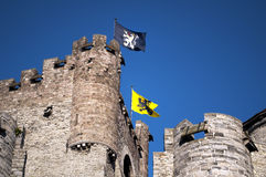 Ghent Castle Stock Photography