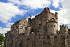 Ghent castle Royalty Free Stock Images
