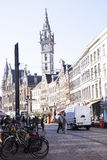 Ghent. A charming town in Belgium royalty free stock photo