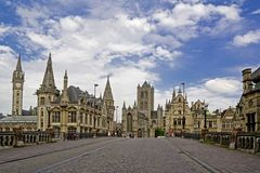 Ghent City Stock Photos
