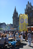 Ghent Food Festival Stock Photography
