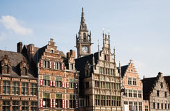 Ghent houses Royalty Free Stock Image