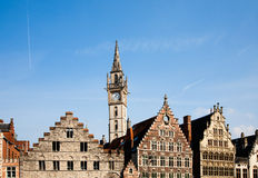Ghent houses Stock Photo