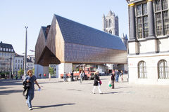 Ghent Market Hall Royalty Free Stock Images