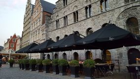 Ghent old town Royalty Free Stock Photo