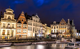 Ghent Old town Belgium Royalty Free Stock Photos