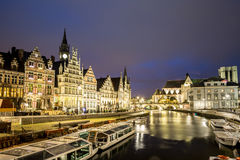 Ghent Old town Belgium Royalty Free Stock Photo