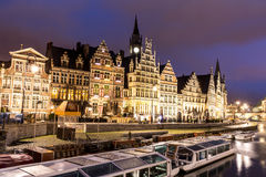 Ghent Old town Belgium Royalty Free Stock Images