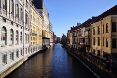 Ghent in spring Royalty Free Stock Photos
