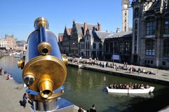 Ghent in spring Royalty Free Stock Images