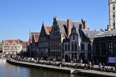 Ghent in spring Stock Photography
