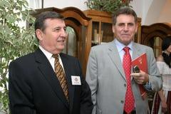Gheorghe Antochi i Grigore Horoi Obrazy Stock