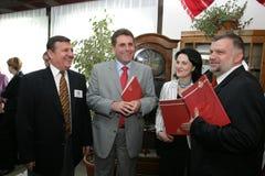 Gheorghe Antochi och Grigore Horoi Royaltyfri Fotografi
