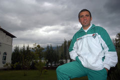 Gheorghe Hagi Royalty Free Stock Photos