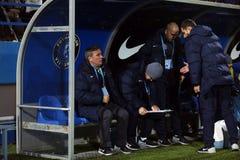 Gheorghe Hagi coach Stock Photos