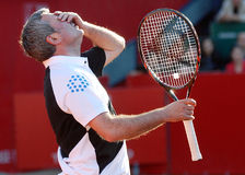 Gheorghe Hagi Tennis Negative Reaction Royalty Free Stock Images