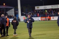 Gheorghe Hagi trener Fotografia Stock