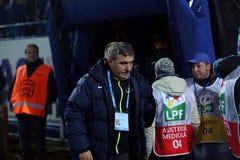 Gheorghe Hagi trener Zdjęcie Stock